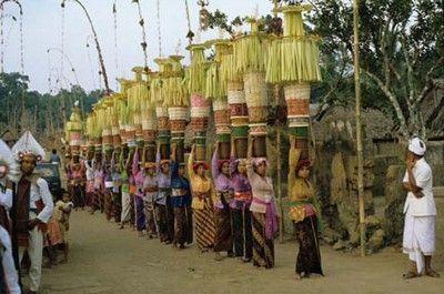 Bali Offering Ritual