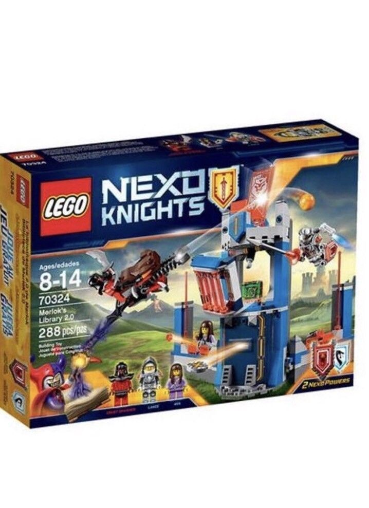 NEW Lego 70324 NEXO KNIGHTS Merlok's Library 2.0 Castle Retired  | eBay