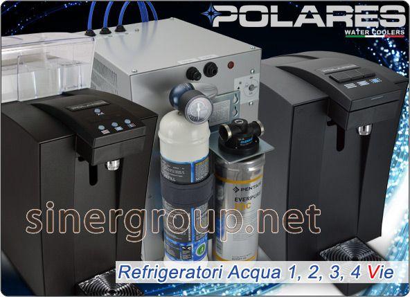 Erogatori Depuratori Refrigeratori Acqua 3, 4 vie Naturale Fredda Gassata