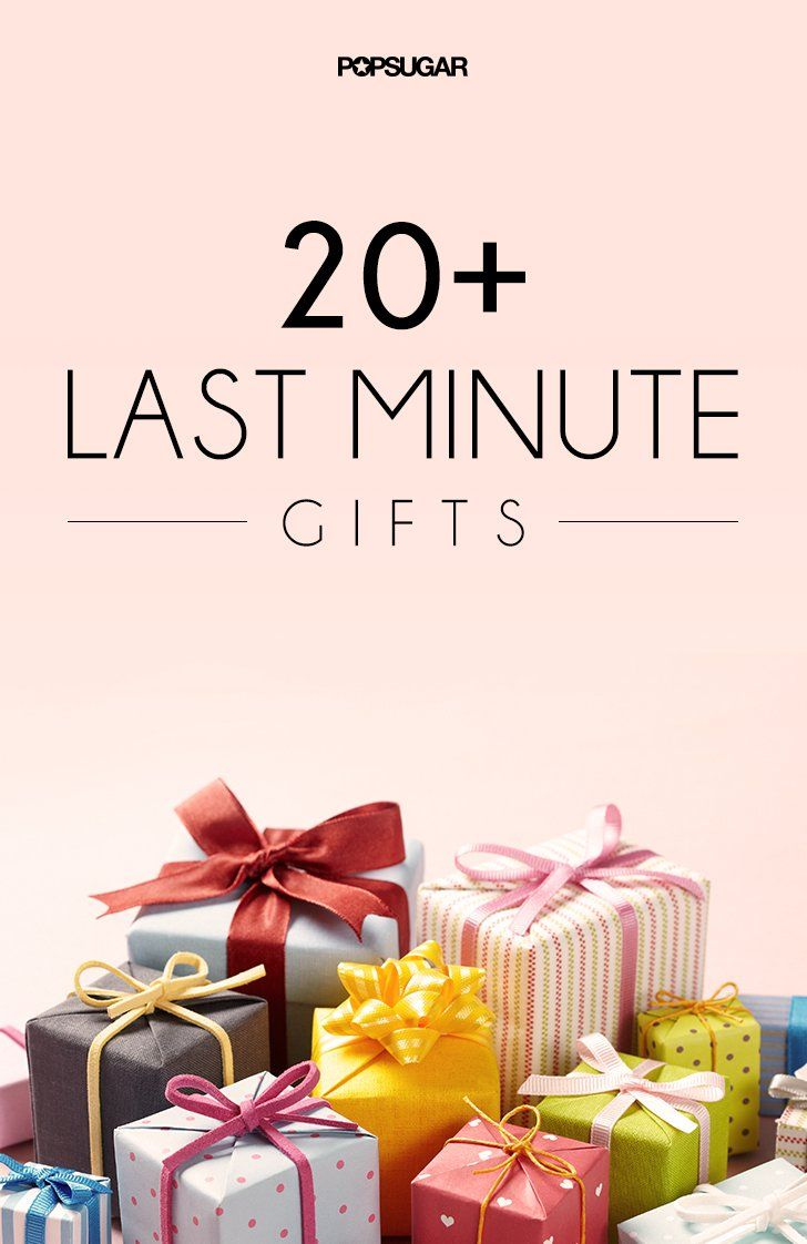 22 Last-Minute Gifts That Don't Seem Last Minute