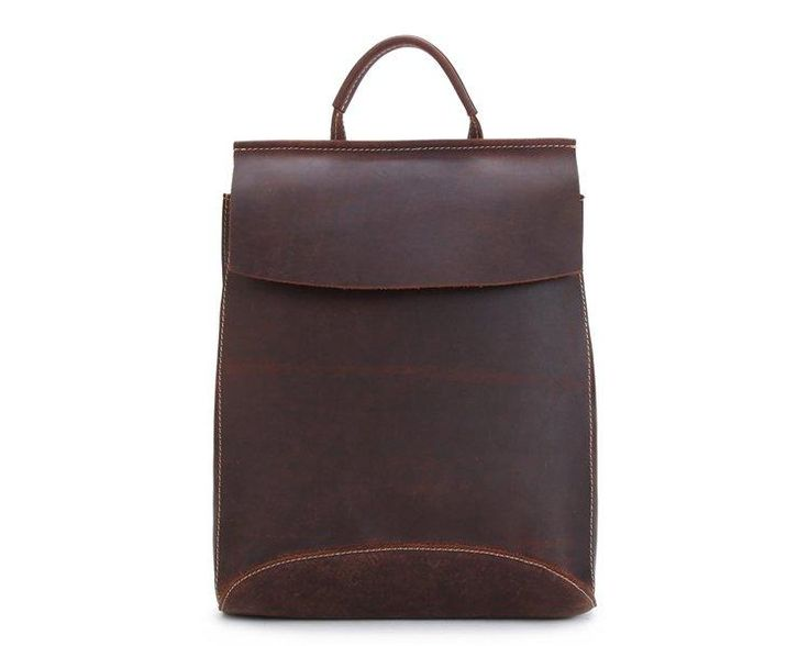 mari every day leather backpack