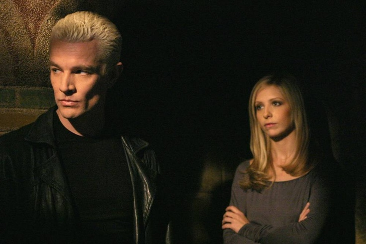 Spike & Buffy - James Marsters & Sarah Michelle Gellar
