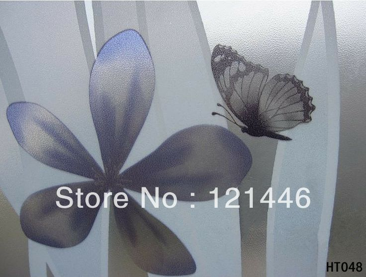 Free shipping ! New design Anti UV pvc self-adhesive privacy stained glass film /decorative window film decoration $55.00