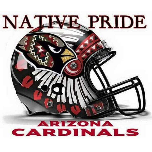 This helmet looks amazing! @azcardinals @nflfanstyle #BirdGang #AZLadyBirds…