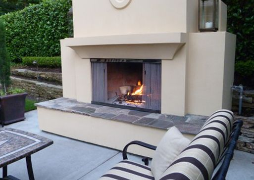 5 Luxurious Fireplace Ideas Just in Time For Winter - Cascade Coil. Custom Fireplace  Screen - 17 Best Images About Fire Screens On Pinterest Hearth