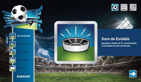 Samsung Soccer App by Remo Colomba, via Behance