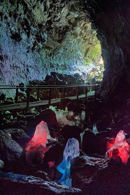 Lava caves.  Been years since I've done this.  Need to put it back on my list.  Located less than10 minutes from Sunriver.