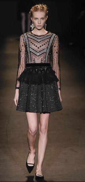 Eclectic Fashion Style Semana De Moda De Mil O Alberta Ferretti E A Sofistica O Eclectic