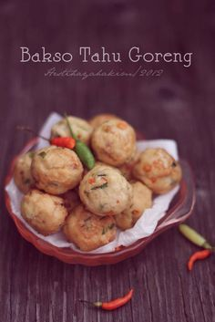 HESTI'S KITCHEN : yummy for your tummy: Bakso Tahu Goreng