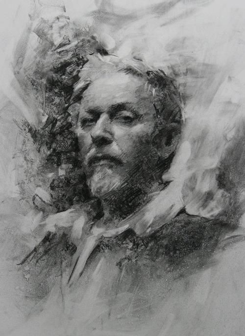 figurative drawing, charcoals — Casey Baugh Fine Art