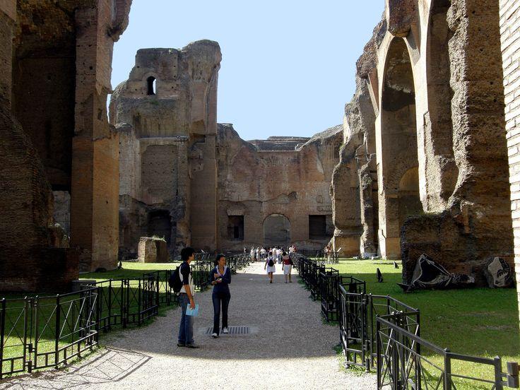 Les Thermes de Caracalla - Rome,  Italy