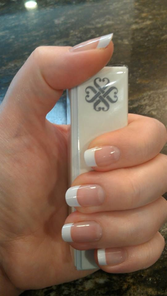 This is the Jamberry French tips.  If you have doubts, have none. they look fantastic. get it here: https://msk.jamberrynails.com.au