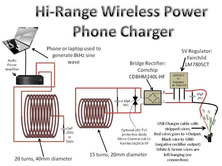 17 best images about elektronika home electrical build a wireless power transmission system that can power a light bulb or charge a phone