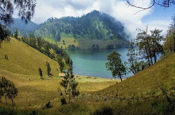 This is Ranukumbolo,Semeru Mountain ( top of the mountain we call it Mahameru)  East Java,Indonesia  Visit Indonesia 2014
