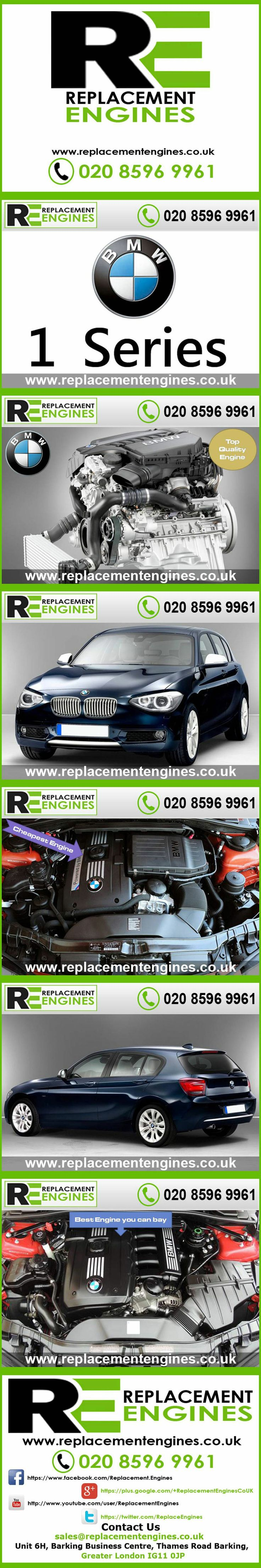 BMW 1 Series Engines for sale at the cheapest prices, we have low mileage used & reconditioned engines in stock now, ready to be delivered to anywhere in the UK or overseas, visit Replacement Engines website here.