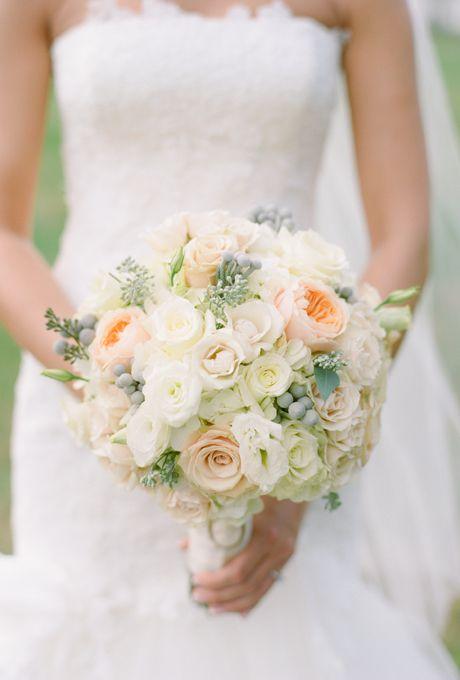 Best 25 Peach Bouquet Ideas On Pinterest Flowers Wedding Bouquets And Beautiful Flower