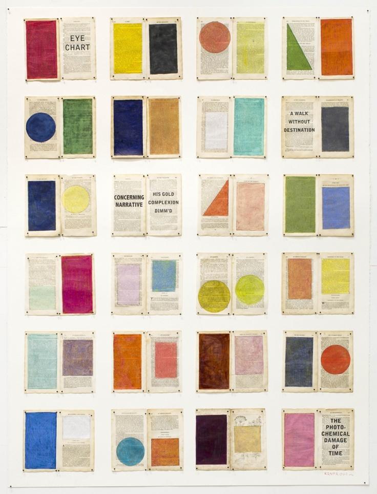 William Kentridge Hergebruiken op een kunstachtige manier vind ik onwijs bijzonder. Ik kan erg genieten van kleurcombinaties en vormen. Dit in combinatie met vintage (gebruikte krant)