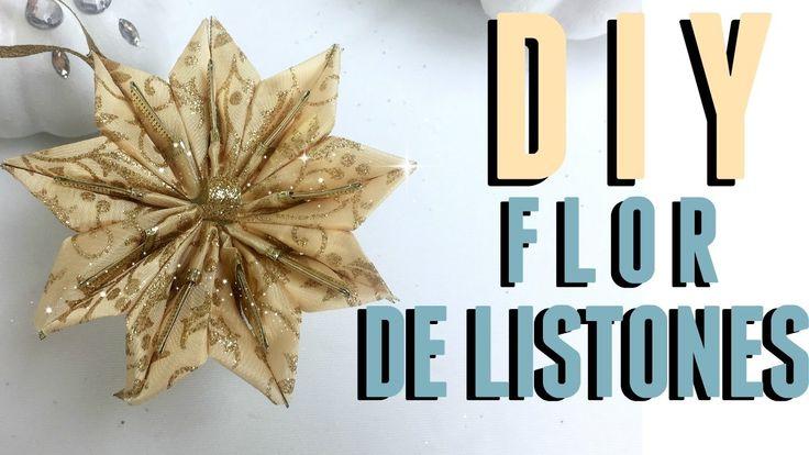 DIY FLOR NAVIDEÑA/ANILLO PARA SERVILLETAS!