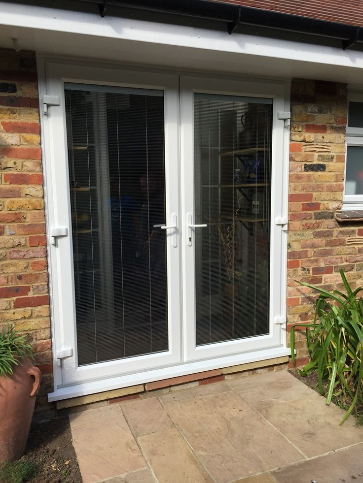 25 best ideas about upvc french doors on pinterest upvc for Back door french doors