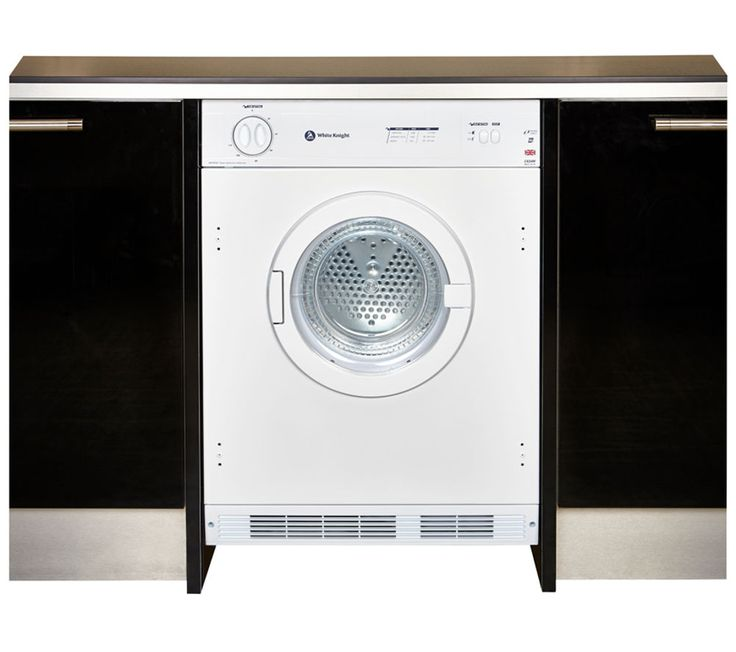 WHITE KNIGHT C43AW Integrated Vented Tumble Dryer - White, 6KG