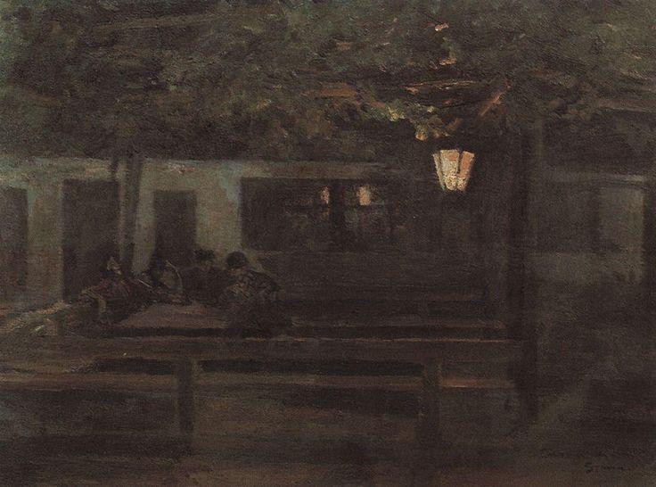 The Spanish Tavern  - Konstantin Korovin