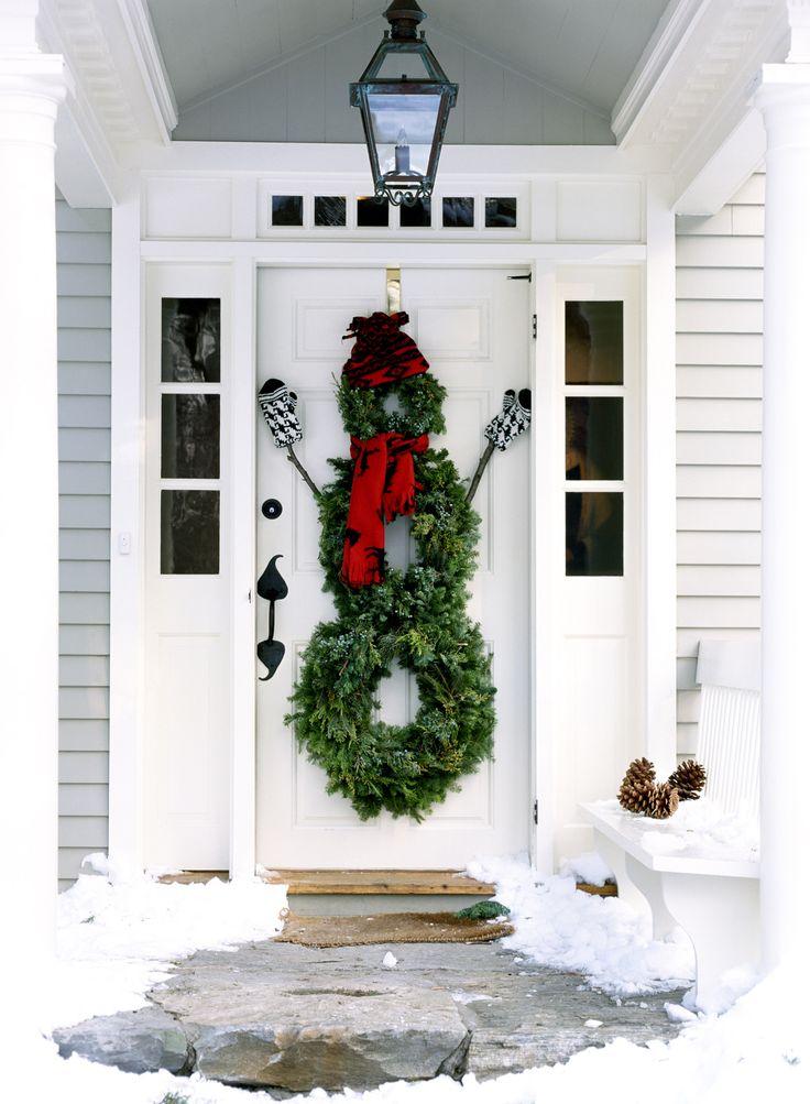 222 best :: CHRISTMAS DOORS :: images on Pinterest | Christmas decor ...