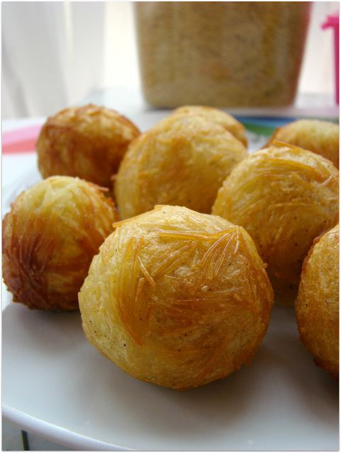 şehriyeli patates topları