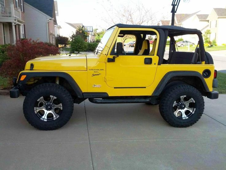 Yellow Wrangler Jeep Wallpaper