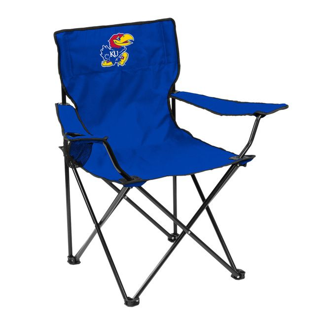 Kansas Jayhawks Quad Chair - Logo Chair Z157-629305619