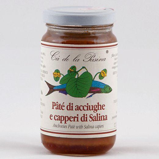 Pâté di acciughe e capperi. Scopri e prova tutti gli altri pâté su: www.demarca.it