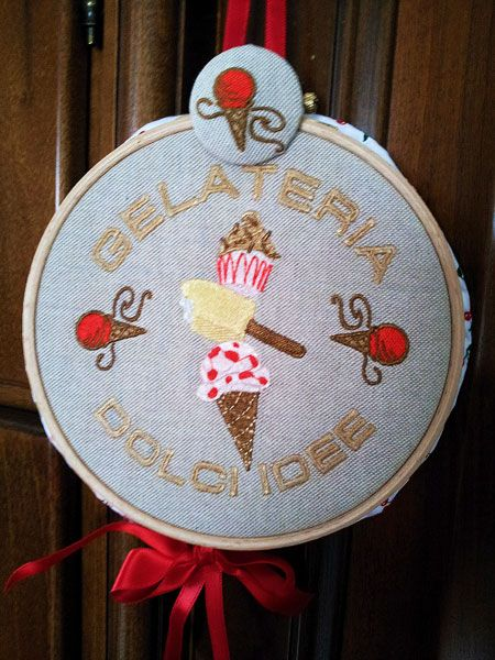 Ice Cream ♥!!! Embroidery Library Designs