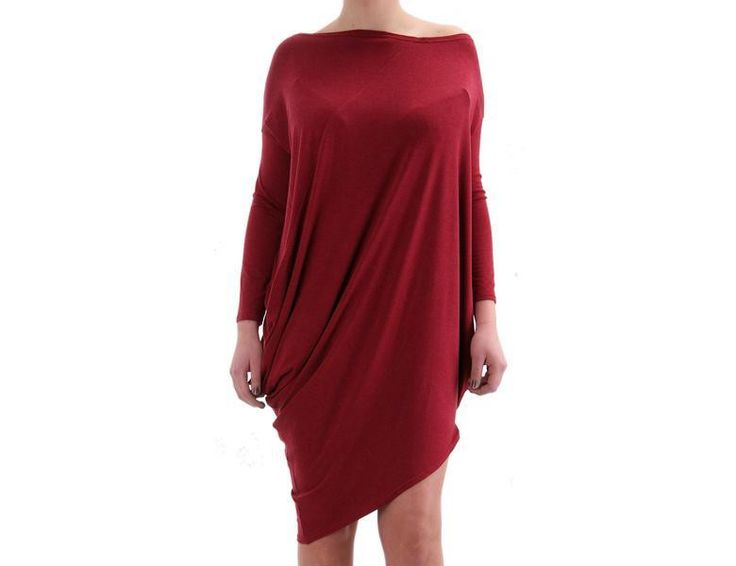 S Rose Redwine - asymetryczna sukienka w Freeshion na DaWanda.com