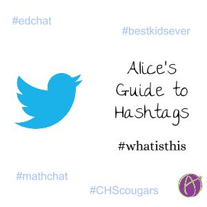 I notice that some teachers I chat with are confused about how hashtags work. Here is my basic guide to hashtags. #Hashtag A hashtag starts with the pounds symbol (#) followed by a single word (or …