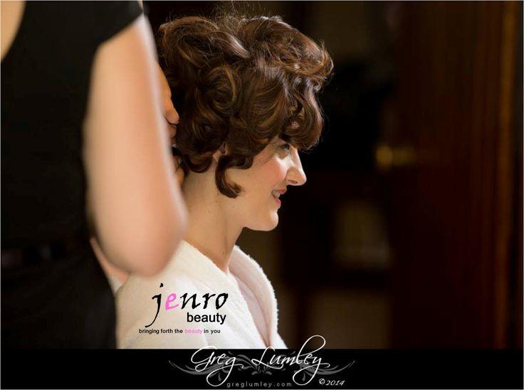 jenrobeauty / www.jenrobeauty.c... Behind the scenes, wedding makeup. #bridal #makeup #lashes #mac #jenrobeauty #glamsquad #jenroteam #weddings
