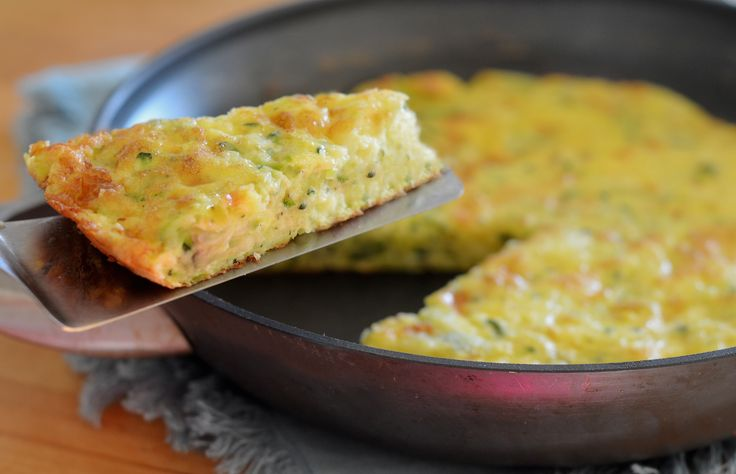 TESTED & PERFECTED RECIPE – With zucchini and Cheddar, this is my kind of frittata- delicate and creamy, almost like a crustless quiche.