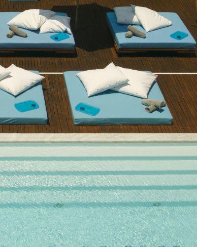 Hotel Deseo in Playa del Carmen. Design Hotel at the beach.