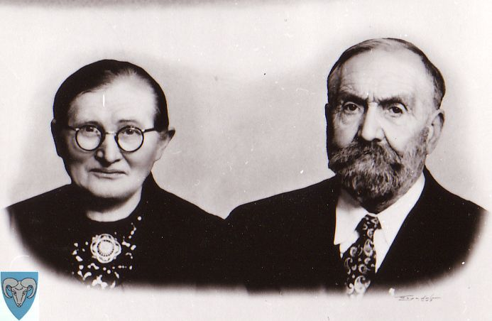Lisa Andrea and Ådne Søyland. My Grandparents