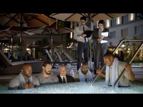 Courtyard Super Bowl 2016 Commercial Rich Eisen Flyover