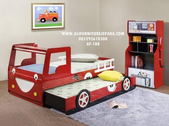 Model Tempat Tidur Anak Bentuk Mobil Terbaru Af 188 Dengan Gambar Kamar Tidur Anak Laki Laki Kamar Tidur Anak Tempat Tidur Anak