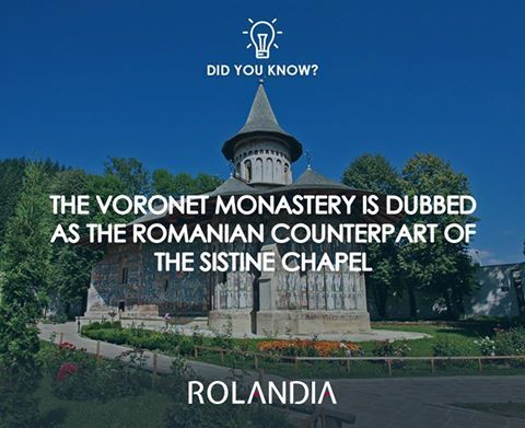 It was built in 1488 by Stephen the Great.  #DiscoverRomania #DidYouKnow #Rolandia