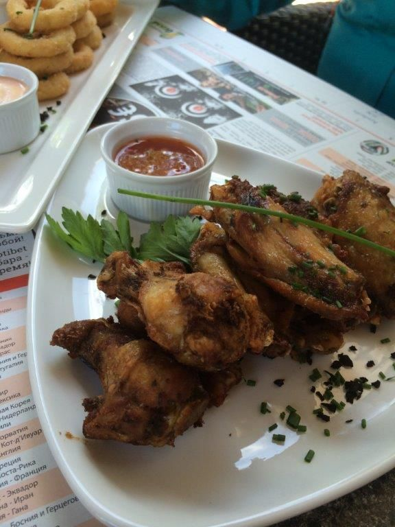 Great chicken wings