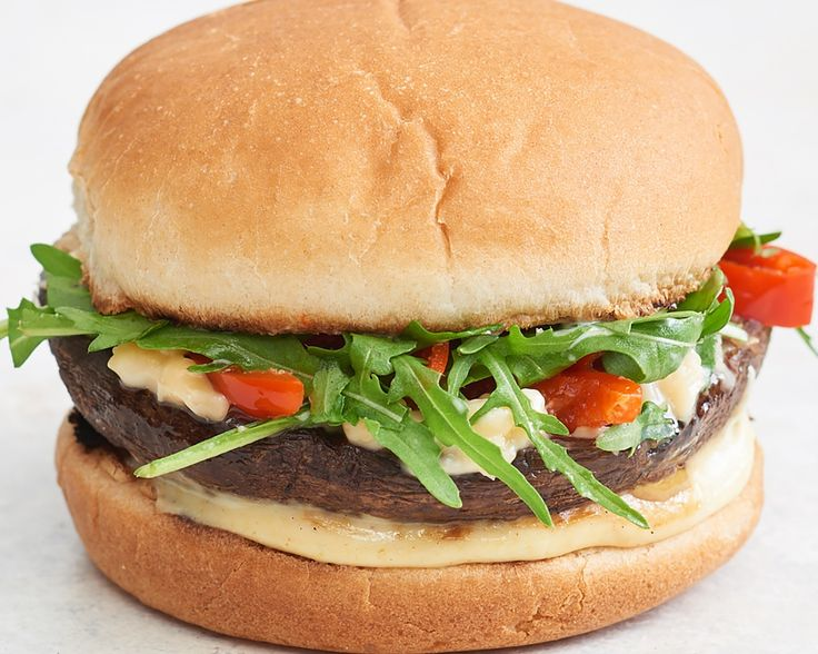 Recipe: Smoky Portobello Mushroom Cheeseburgers — Quick and Easy Vegetarian Dinners