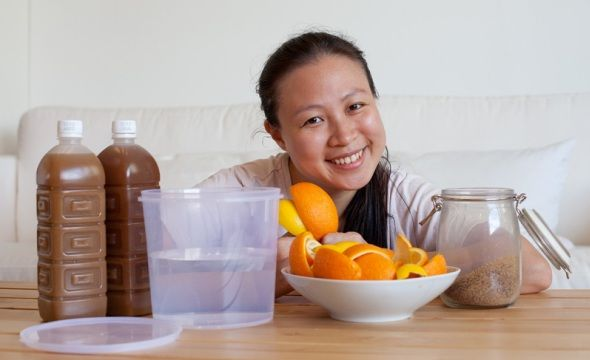how to make fruit enzymes at home