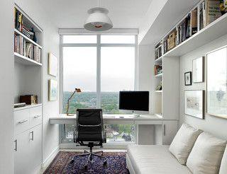 Scandinavian Modern Condominium - contemporary - home office - toronto - by Jill Greaves Design