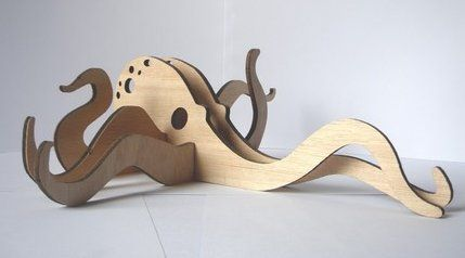 Combining inventive and creative elements comes these plywood animal kits made in Melbourne. The kits come flat packed and would be a fantastic activity to do as a family. I could imagine us all sitting down at the dining table, each making our own little