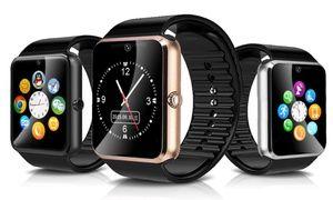 Groupon-Gutschein - Smartwatch mit Edelstahlgehäuse in der Farbe nach Wahl, inkl. Versand. Groupon-Deal-Preis: 24,95€