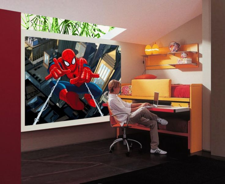 The Amazing Spiderman Wall Mural By WallandMore. Marvel Collection.