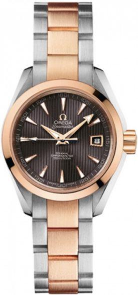 231.20.30.20.06.001 Omega Seamaster Aqua Terra Automatic Ladies Gold Watch