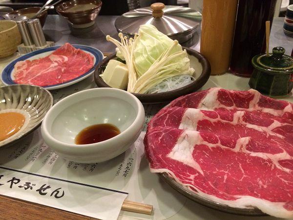 ダイエット中の矢竹ですが、日曜日は解禁日となっていますので、先週日曜にランチでしゃぶしゃぶを食べに行きました。