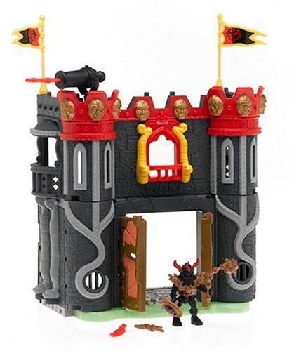 Imaginext King Arthur: Sir Mordred's Castle Playset by Fisher Price. $139.95. Sir Mordred, King Arthur's evil half-brother and his Dark Knights are determined to seize the crown from Arthur and rule the land. Their headquarters is Mordred's Castle, a spooky hideout where Mordred and his knights hatch their evil plots. Can Mordred defend his fort from Arthur and the Knights of the Round Table, or will the king and his men brave the cannons and storm the castle' In the world of...